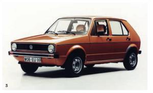 Der VW Golf I GLS
