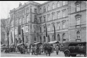 Gebäude der Technischen Lehranstalten Chemnitz, ca. 1950