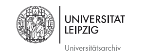 Logo Universitätsarchiv Leipzig